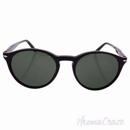Persol PO3092SM 9014/31 - Black/Green by Persol for Unisex -