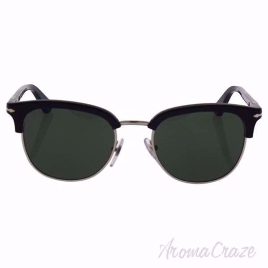 Persol PO3105S 95/31 - Black/Green by Persol for Men - 51-20