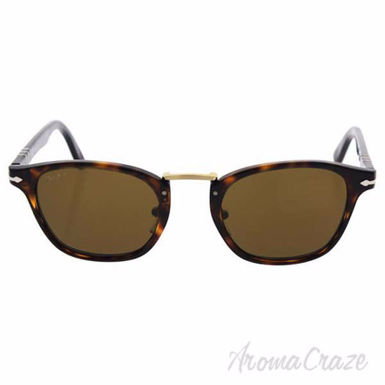 Picture of Persol PO3110S 24/57 Typewriter Edition - Havana/Brown Polarized by Persol for Men - 49-22-145 mm Sunglasses