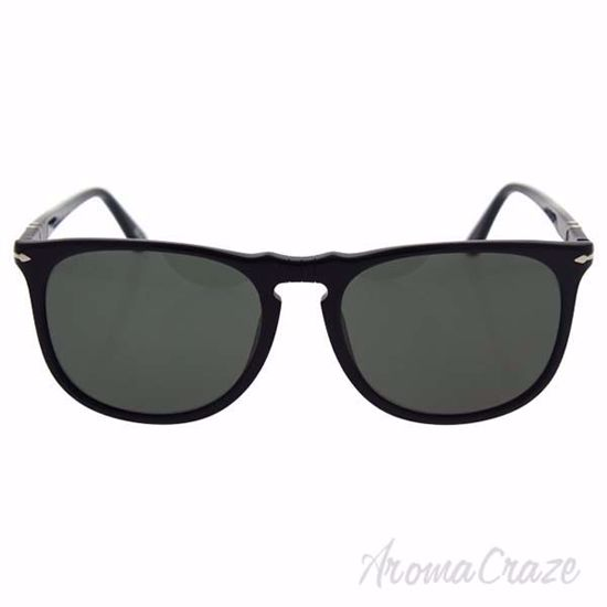 Persol PO3113S 95/58 - Black/Green Polarized by Persol for M