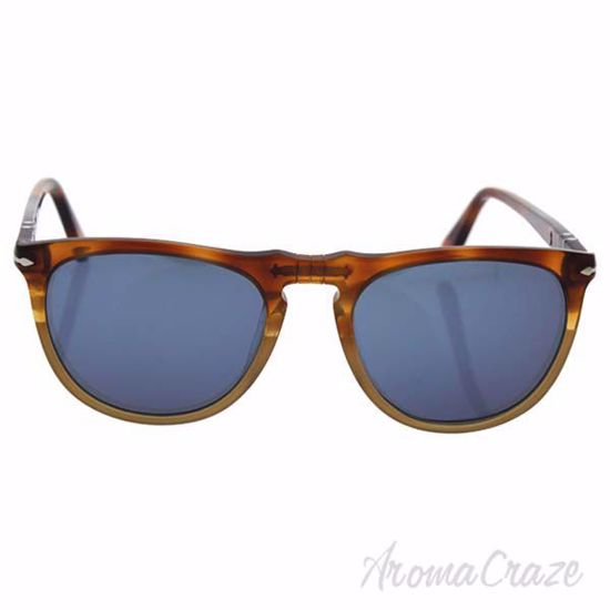 Picture of Persol PO3114S 1025/56 Resina e Sale - Havana/Blue by Persol for Men - 53-19-145 mm Sunglasses
