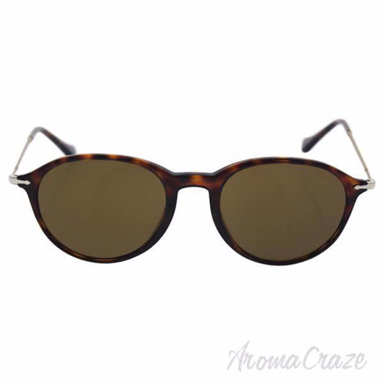 Picture of Persol PO3125S 24/57 Reflex Edition - Havana/Brown Polarized by Persol for Unisex - 49-19-140 mm Sunglasses