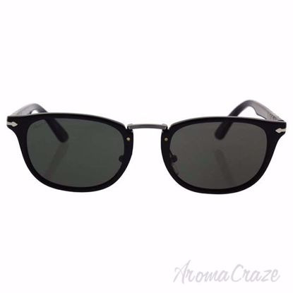 Persol PO3127S 95/58 - Black/Green Polarized by Persol for M