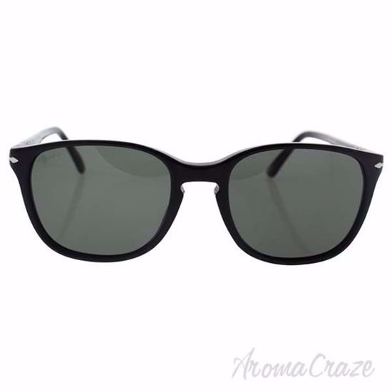Persol PO3133S 9014/58 - Black/Green Polarized by Persol for