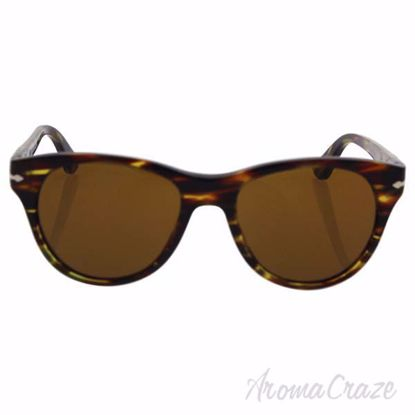 Persol PO3134S 938/33 - Green Striped/Brown by Persol for Wo