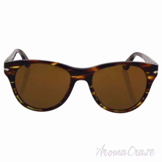 Picture of Persol PO3134S 938/33 - Green Striped/Brown by Persol for Women - 51-17-140 mm Sunglasses