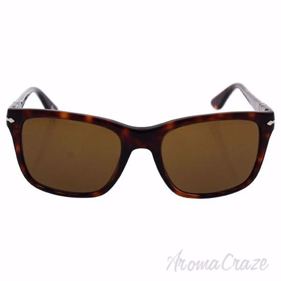 Picture of Persol PO3135S 24/57 - Havana/Brown Polarized by Persol for Men - 55-19-145 mm Sunglasses