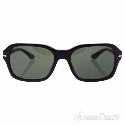 Picture of Persol PO3136S 95/31 - Black/Green by Persol for Unisex - 57-18-140 mm Sunglasses