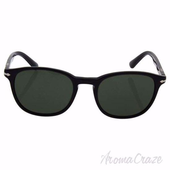 Persol PO3148S 9014/31 - Black/Green by Persol for Men - 53-