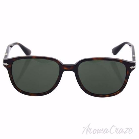 Persol PO3149S 24/31 - Havana/Green by Persol for Men - 52-1
