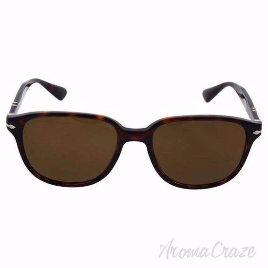 Picture of Persol PO3149S 24/57 - Havana/Brown Polarized by Persol for Men - 55-18-145 mm Sunglasses