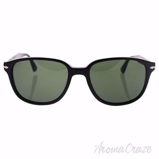 Picture of Persol PO3149S 95/31 - Black/Green by Persol for Men - 55-18-145 mm Sunglasses