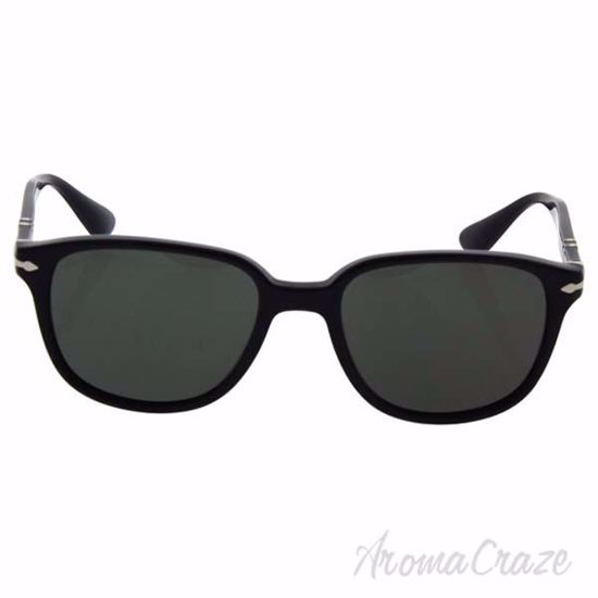 Picture of Persol PO3149S 95/58 - Black/Green Polarized by Persol for Men - 52-18-145 mm Sunglasses