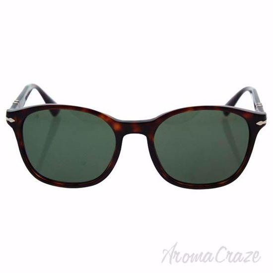 Persol PO3150S 24/31 - Havana/Green by Persol for Men - 54-1