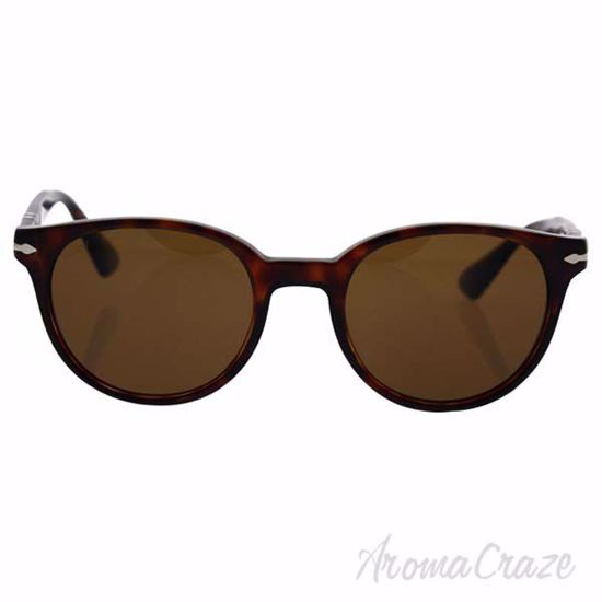 Picture of Persol PO3151S 24/57 - Havana/Brown Polarized by Persol for Men - 49-20-145 mm Sunglasses