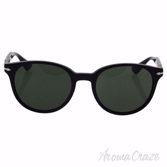 Picture of Persol PO3151S 95/31 - Black/Green by Persol for Men - 52-20-145 mm Sunglasses