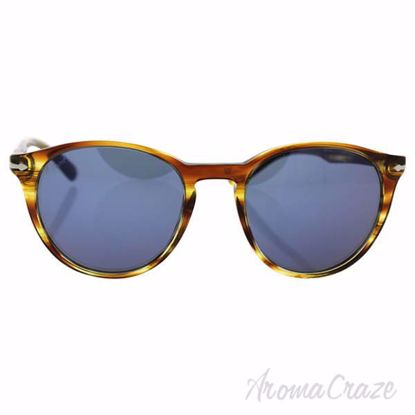Persol PO3152S 9043/56 - Brown Striped Yellow/Blue by Persol