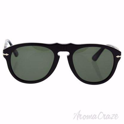 Persol PO649 95/58 - Black/Green Polarized by Persol for Men