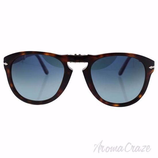 Picture of Persol PO714 24/S3 - Havana/Blue Faded Polarized by Persol for Men - 54-21-140 mm Sunglasses