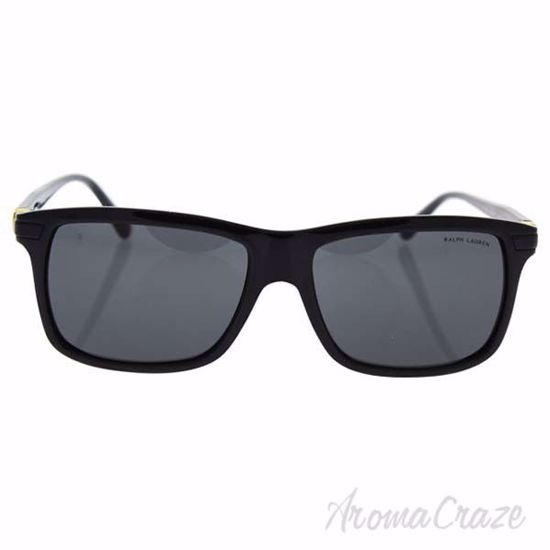 Picture of Polo Ralph Lauren PH 4084 5001/87 - Shiny Black/Grey by Ralph Lauren for Men - 56-16-145 mm Sunglasses