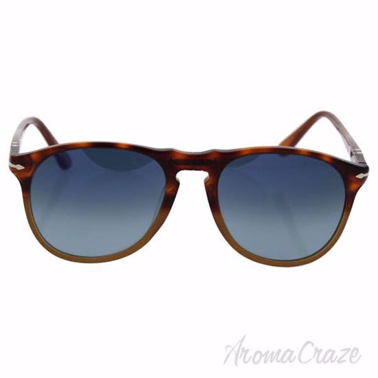 Picture of Persol PO9649S 1025/S3 - Resina e Sale /Blue Faded Polarized by Persol for Men - 52-18-145 mm Sunglasses
