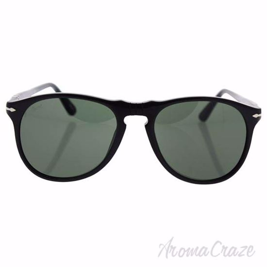 Picture of Persol PO9649S 95/31 Black/Grey by Persol for Men - 52-18-145 mm Sunglasses