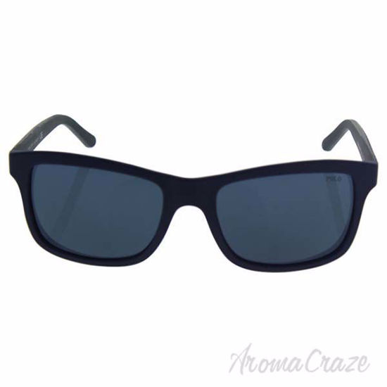 Polo Ralph Lauren PH 4095 5528/87 - Matte Blue/Smoke Blue by
