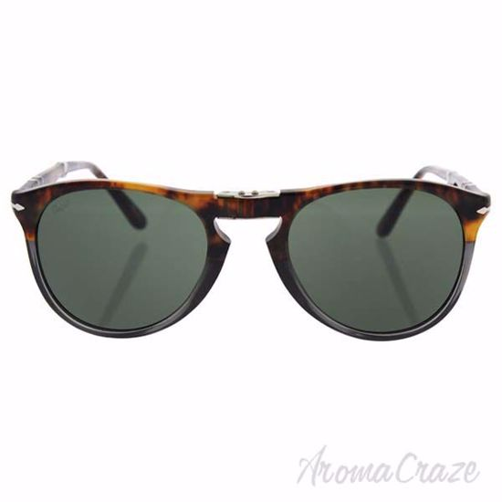 Picture of Persol PO9714S 1023/31 - Fuoco e Ardesia/Green by Persol for Men - 52-20-140 mm Sunglasses