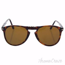 Persol PO9714S 24/33 - Havana/Brown by Persol for Men - 52-20-140 mm Sunglasses