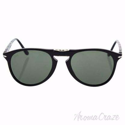 Persol PO9714S 95/31 - Black/Green by Persol for Men - 52-20