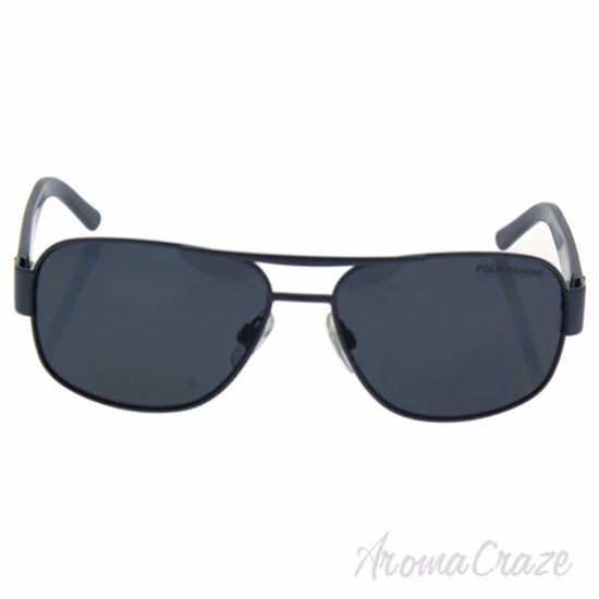 Picture of Polo Ralph Lauren PH 3080 9244/81 - Matte Dark/Grey Polarized by Ralph Lauren for Men - 59-15-135 mm Sunglasses