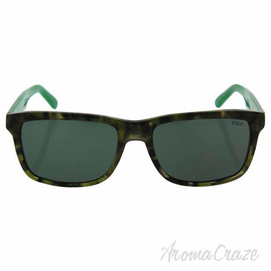 Picture of Polo Ralph Lauren PH 4098 5436/71 - Vintage Camou Tortoise/Green by Ralph Lauren for Men - 57-18-145 mm Sunglasses