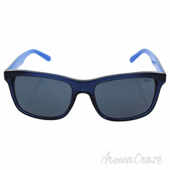 Picture of Polo Ralph Lauren PH 4098 5563/87 - Trasparent Blue/Grey Blue by Ralph Lauren for Men - 57-18-145 mm Sunglasses