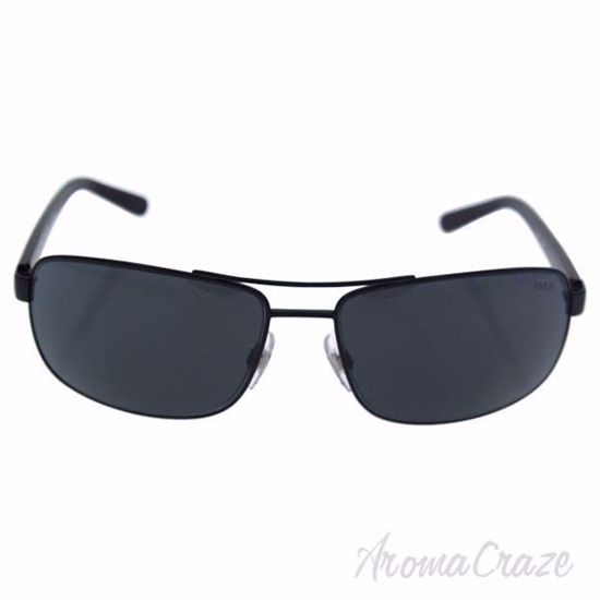 Picture of Polo Ralph Lauren PH 3095 9038/87 - Matte Black/Grey by Ralph Lauren for Men - 63-16-130 mm Sunglasses