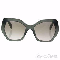 Prada SPR 16R UEI-4P2 - Opal Dark Green/Grey Gradient by Prada for Women - 56-19-135 mm Sunglasses