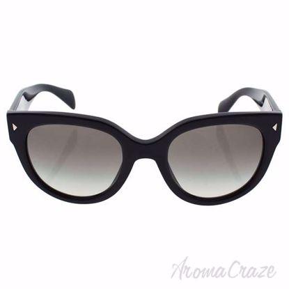 Prada SPR 17O 1AB-0A7 - Black/Grey by Prada for Women - 54-2