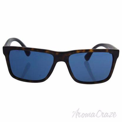 Prada SPR 19S HAQ-5P2 - Matte Havana/Blue by Prada for Men -