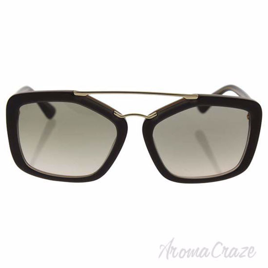 Picture of Prada SPR 24R UED-3H2 - Opal Brown Beige/Light Brown Gradient Light Green by Prada for Women - 56-17-140 Sunglasses