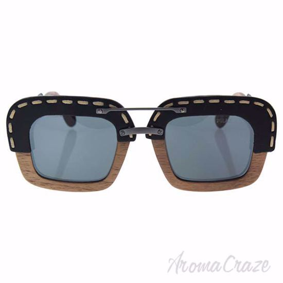 Picture of Prada SPR 26R UA6-1A1 - Nut Canaletto Black Leather/Grey Gradient by Prada for Unisex - 51-25-140 mm Sunglasses