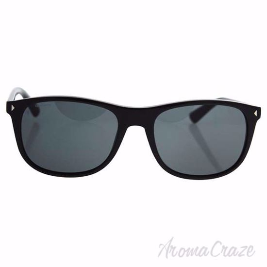 Prada SPR 01R 1AB-1A1 - Black/Grey by Prada for Men - 57-19-