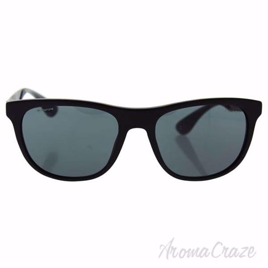 Picture of Prada SPR 04S 1BO-1A1 - Matte Black/Grey Gradient by Prada for Men - 57-19-145 mm Sunglasses