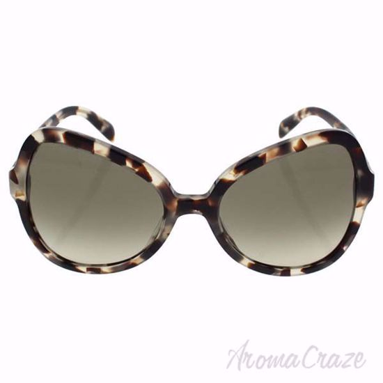 Prada Sunglasses SPR 05S UAO-4K1 - Spotted Opal Brown/Green Gradient For Women