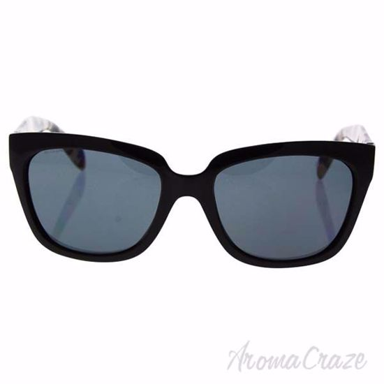 Prada SPR 07P 1AB-5Z1 - Black/Grey Polarized by Prada for Wo