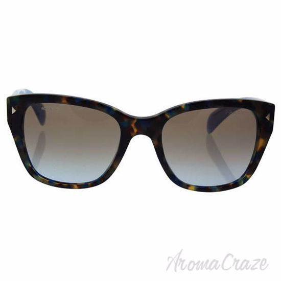 Picture of Prada SPR 09S UE1-4S2 - Spotted Brown Blue/Light Blue Gradient Light Brown by Prada for Women - 54-20-140 mm Sunglasses
