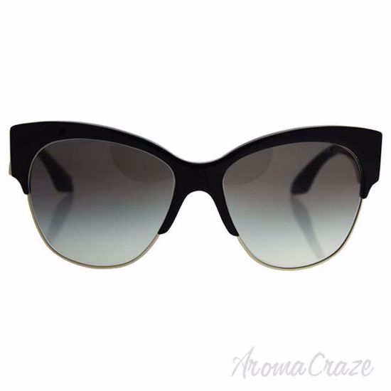 Picture of Prada SPR 11R 1AB-0A7 - Black/Grey Gradient by Prada for Women - 56-16-140 mm Sunglasses
