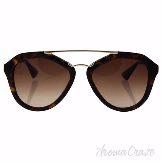 Prada SPR 12Q 2AU-6S1 - Brown/Brown by Prada for Women - 54-