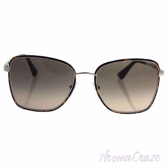 Prada SPR 52S 2AU-3D0 - Dark Havana Silver/Light Brown Grey
