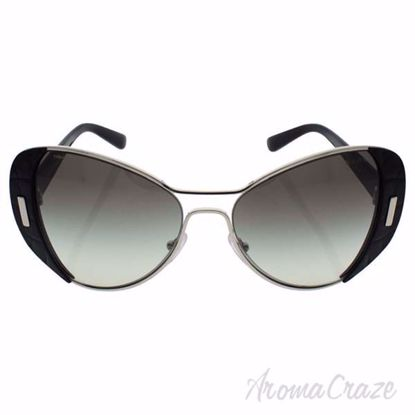 Prada SPR 60S 1AB-0A7 - Silver/Black by Prada for Women - 55