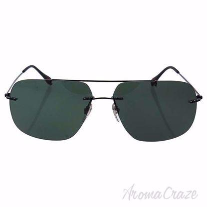 Prada SPS 55P 7AX-3O1 - Black/Grey Green by Prada for Men -