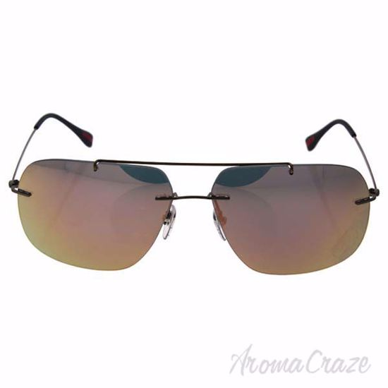 Picture of Prada SPS 55P ROU-2D2 - Matte Grey/Rose Gold by Prada for Men - 63-14-140 mm Sunglasses
